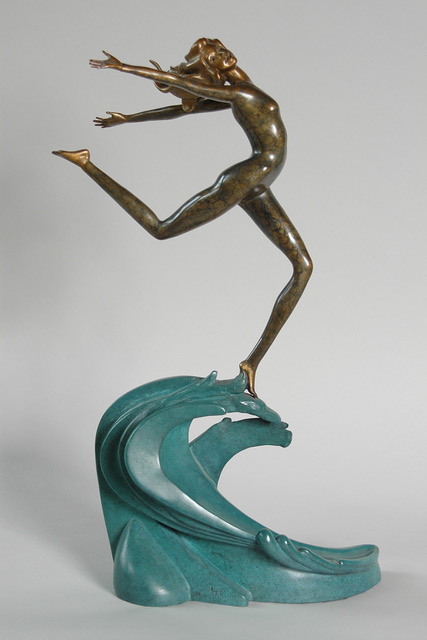 Joyful Becoming - bronze