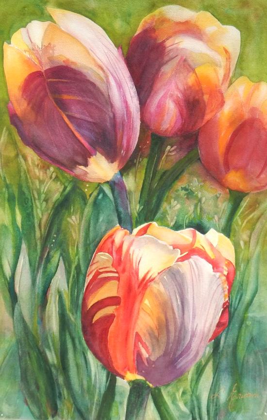 Gathering of Tulips