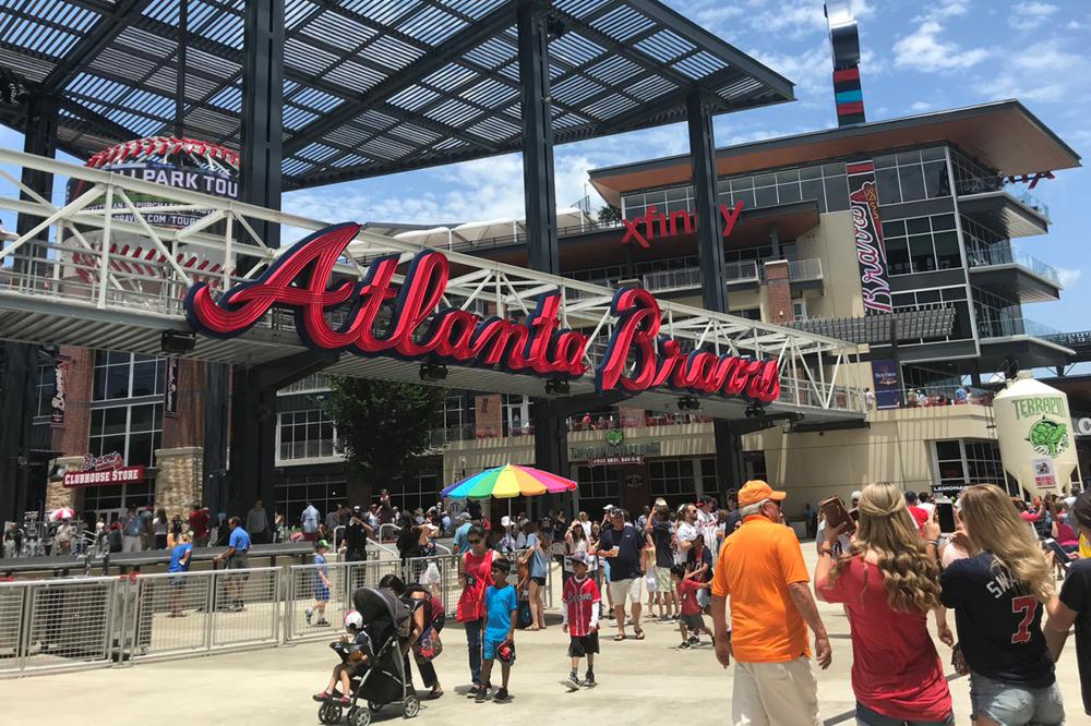 Suntrust Park Atlanta Braves -