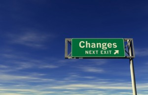 Changes Exit Sign