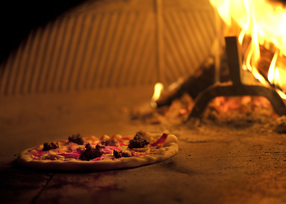 wood burning oven pizza Portland