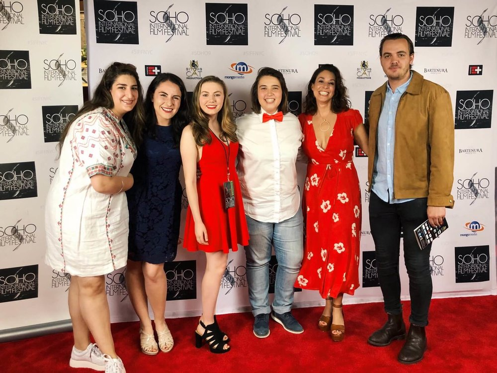 Soho International Film Festival - Jolie Curtsinger & The Perfect Fit Cast