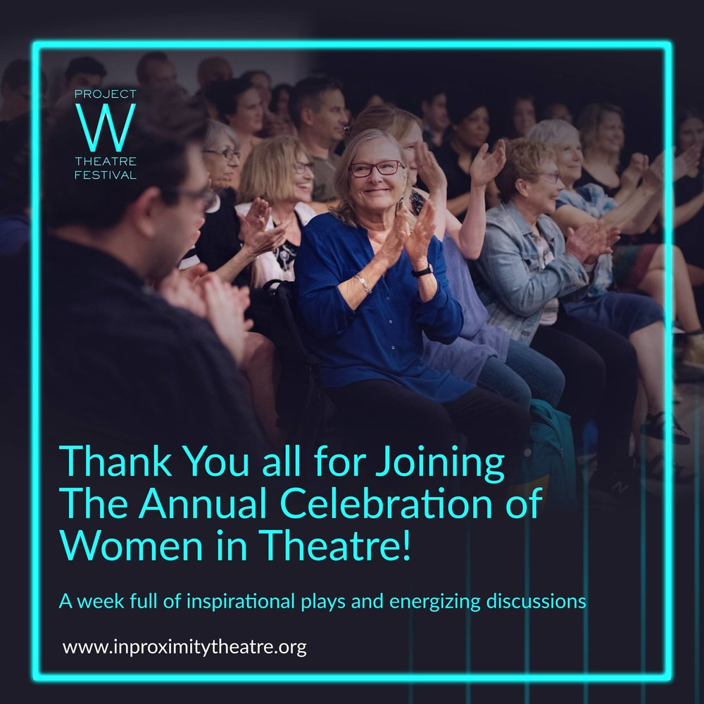 Thank you all for joining us! - We hope you were as inspired and energized by these outstanding plays as we were. To continue the conversation we would like to create an online platform for everyone involved in Project W, and continue sharing writers' and producers' on-going progress promoting and producing their work. Feel free to contact us if you're interested joining a Facebook group where we could continue brainstorming and supporting each other, and if you would like us to feature your work on our Facebook Page.