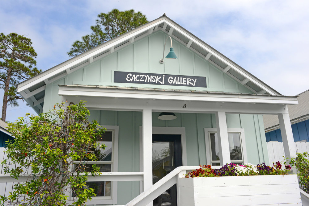 In March 2012, Andy's art gallery opened in Grayton Beach. It is located in Shops of Grayton, just north of Scenic Highway 30A. We invite you to come by and meet the artist.