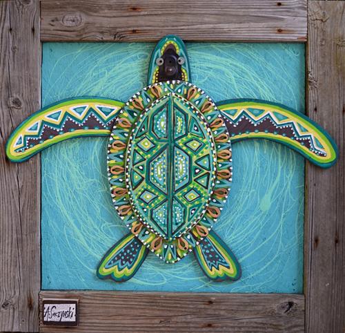Sea Turtle 2 | 45x43 inches