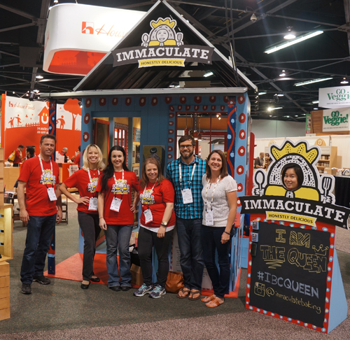 Immaculate Baking Company at Natural Products Expo West at the Anaheim Convention Center