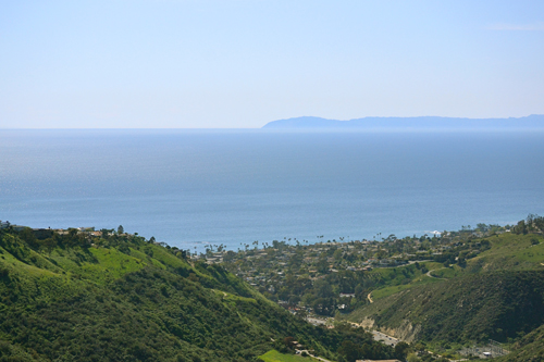 view from Alta Laguna Park in Laguna Beach