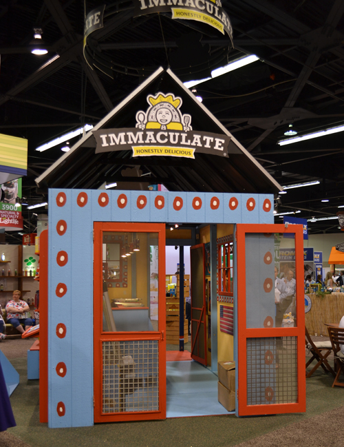 Immaculate Baking Company's booth