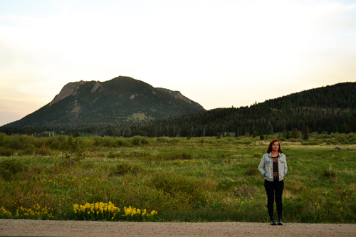 Taylor in Rocky Mountain National Park