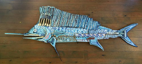Grande Sailfish | 106x45 inches | $2800