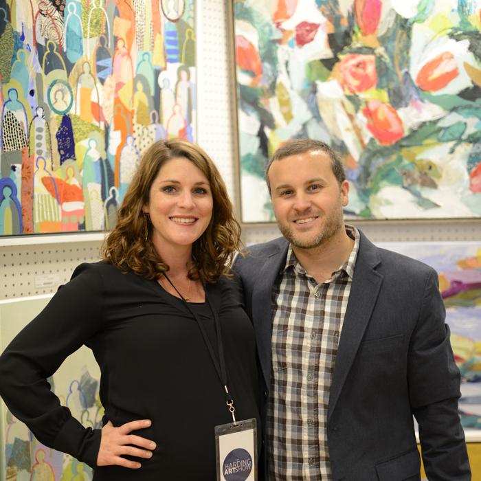 Hannah Lane + her husband