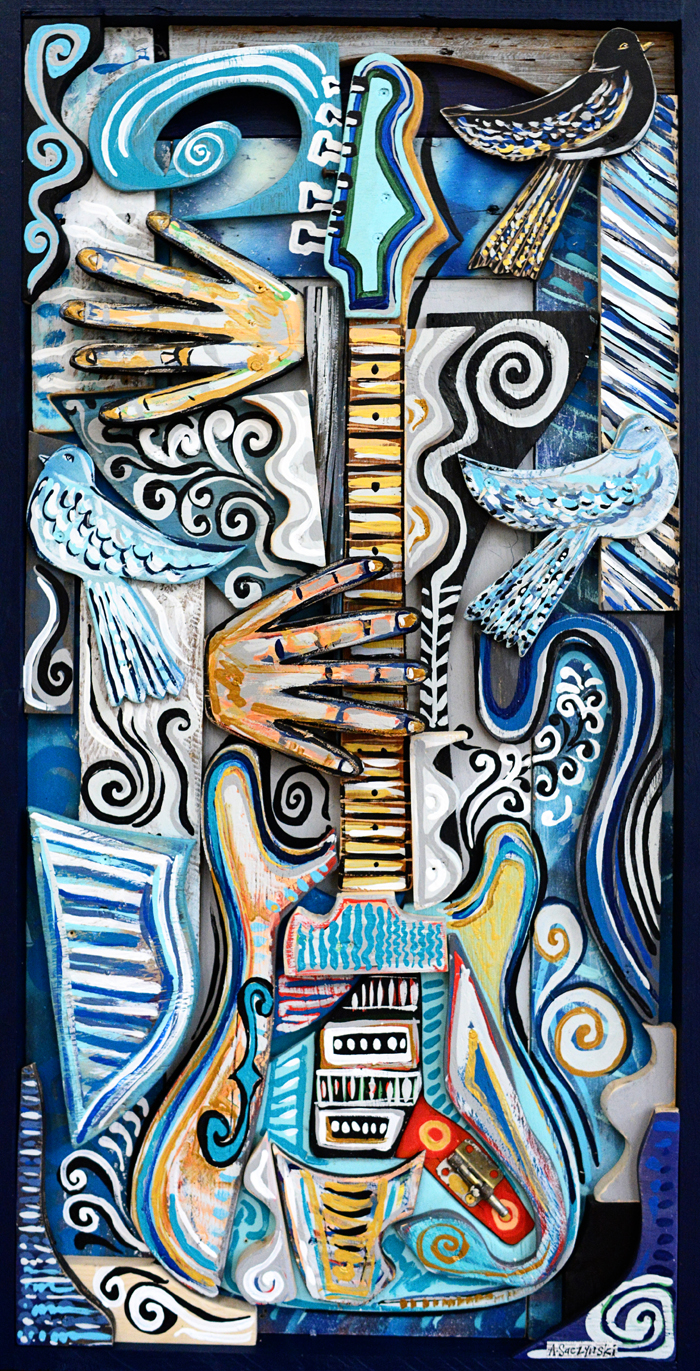 Rhythm and Blues | 22x44 inches