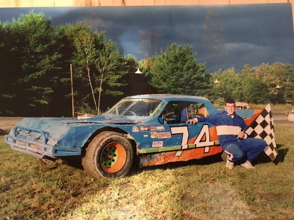 Mike and his #74 Stock Car