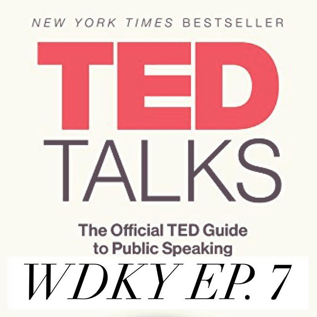 In this weeks episode of #WDKYet Nsima and Brian explore the official Ted guide to public speaking. They hi-light the key points of the book along with strategies to take your own speaking and storytelling to the next level. Link in bio! . . . . . . . #Podcast #selfhelp #WDKY #development #fitness #Mentalhealth #blackbusiness #men sfiteness #menshealth #sactown #SacramentoPodcasts #selfdevelopment #strength #podcasting #podcastlife #podcastersofinstagram #podcasts