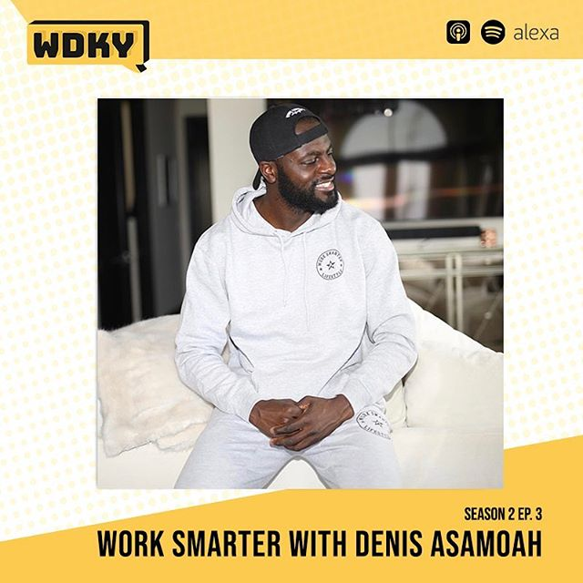 Have you managed to listen to the episode with Denis Asamoah aka @mrworksmarter ? So many useful tactics and tricks in this episode to help productivity and work life balance. - Let us know your thoughts! #WDKYet