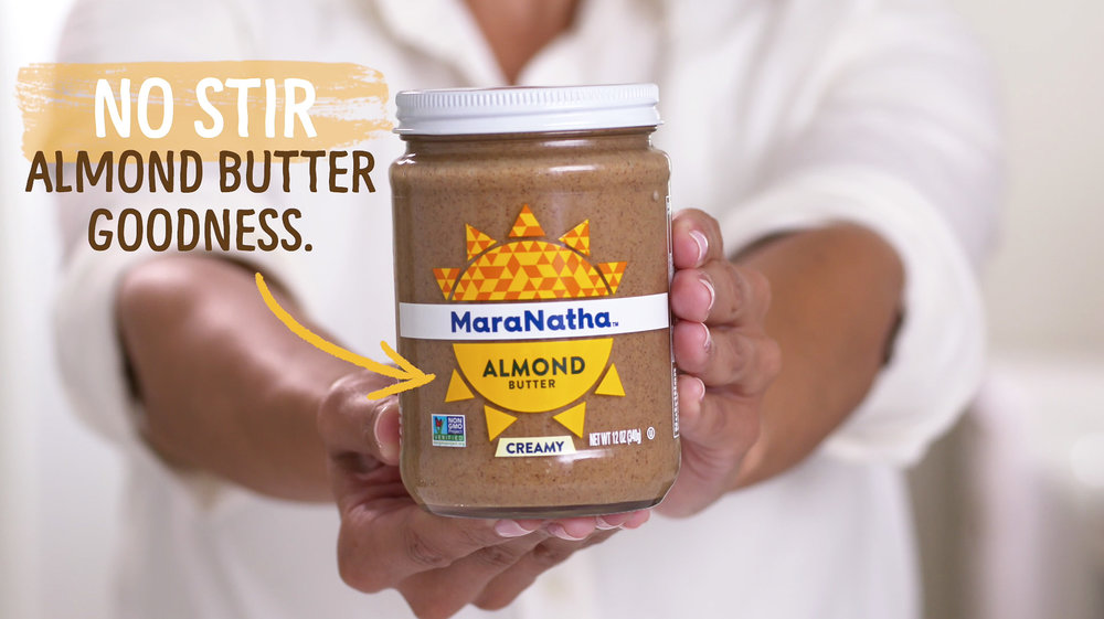 Maranatha Almond Butter - ONLINE COMMERCIAL CONTENT