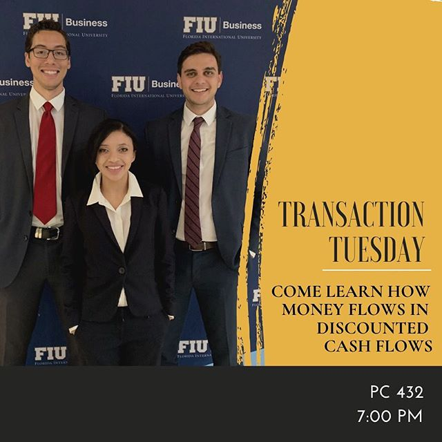 Tonight's lesson will delve into DCF's and as always we will have an interactive financial modeling segment! Come out to PC 432 and learn more about investment banking!!! • • • @fiubusiness @fiumarketing @fiucareer @fiuinstagram  #business #marketing #fiu #finance #banking #investmentbanking #invest #promotion #college #university #universitylife #collegelife #businessclub #inspiration #wallstreet #florida #floridainternationaluniversity #goldmansachs #jpmorgan #morganstanley #bank #money #financialliteracy #future #education #learning #professional