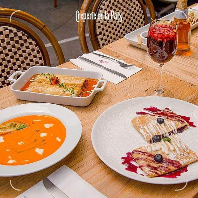 Las mejores crepas de CDMX @creperiedelapaixcondesa prueba su delicioso menu para @buenprovecho_cdmx del 17 al 24 de Noviembre!