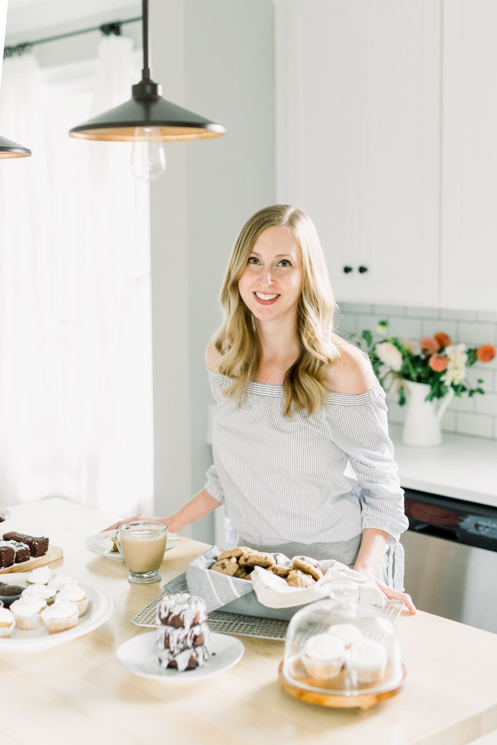 Welcome! - I'm Sarah Blackburn….I am married to my best friend of 6 years and have been a SAHM to our 4 yo son and 1 yo daughter. They have been the best built-in taste testers over the years!