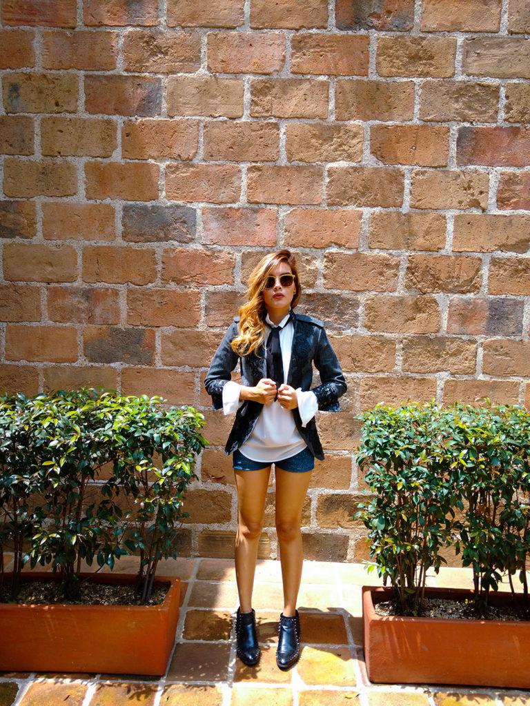 Riding Coat - Colombian Blogger