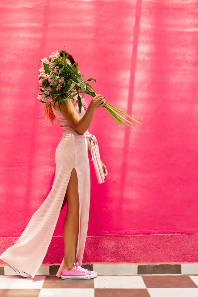 modo rosa - contra el cancer de mama