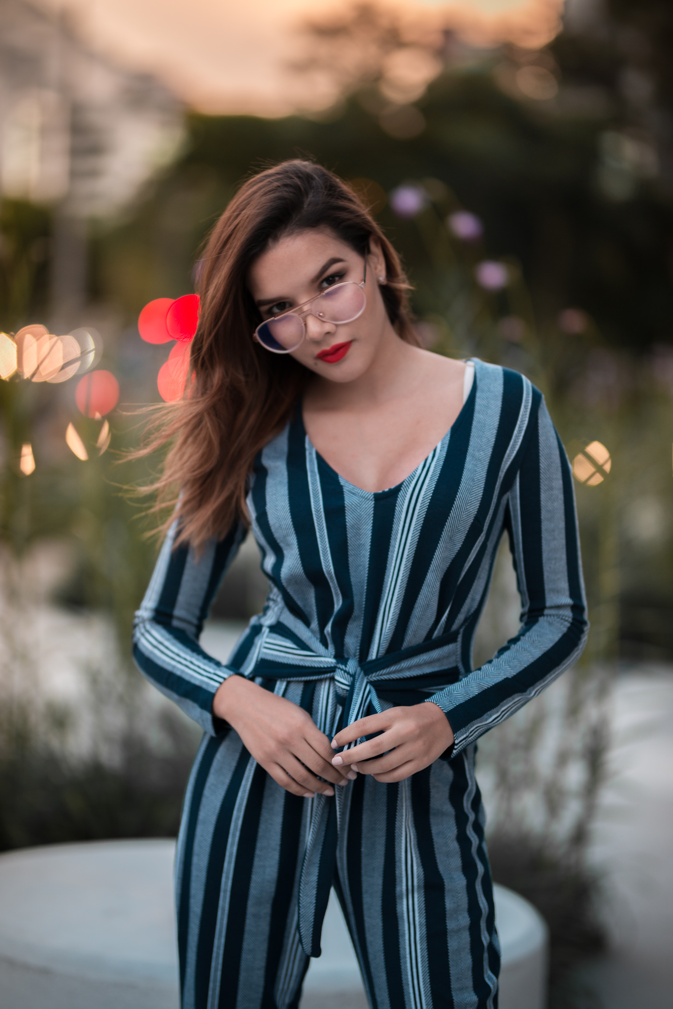 @caroseditorial Medellin Colombianjumpsuit fashion blogger outfit