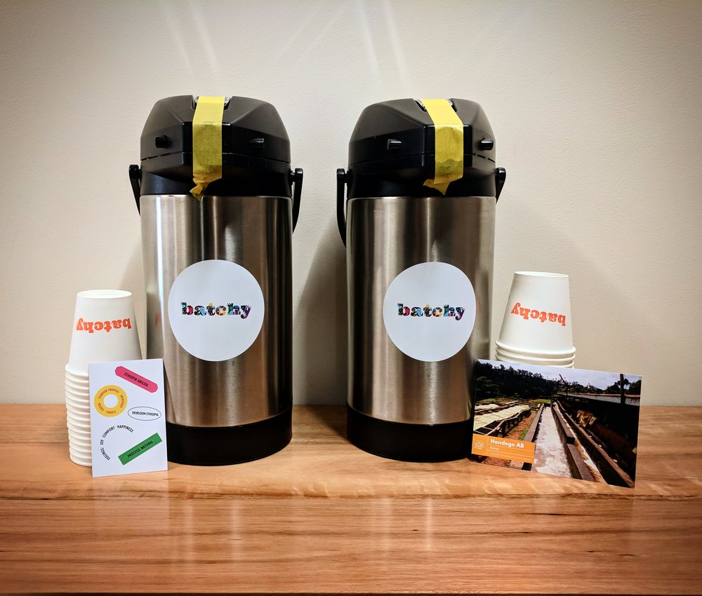 Daily Coffee Delivery - Self-serve station at workFrom less than $2 per cup delivered.No equipment. No barista. No grinds. No beans purchasing. No cleaning ever. Simply 1 monthly invoice (which incidentally is cancelled out by the PRODUCTIVITY saved!