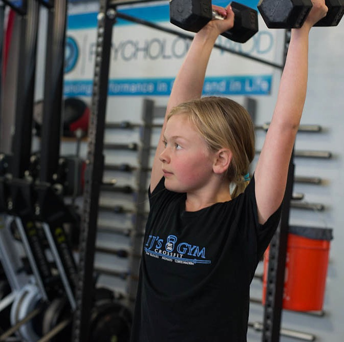 MEET ELLA! - Ella is one of the many young girls/teens who have found a home at TJ's, thanks to our awesome coaches. We just LOVE the process of helping girls get stronger and fitter. Empowering the next generation through fitness and community is a pretty great gig, and we are lucky to have it! Thanks for allowing us to be part of your journey, Ella!