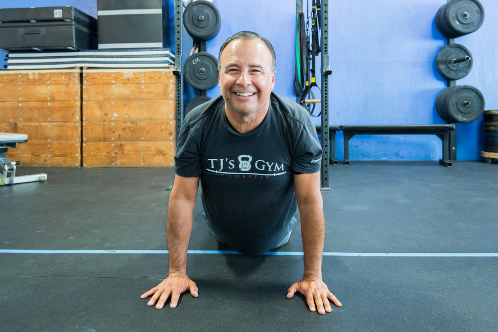 MEMBER SPOTLIGHT - It may or may not be a coincidence that this photo of the incomparable Jimmy headlines a message about consistency and functionality in training for the long haul and for the enjoyment of retirement.