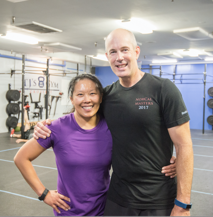- Last month, Hamilton hit his 10-year anniversary at TJ's Gym. This guys is a true model of how to be in it for your health and wellness for the long haul. Hit him up if you have questions about how he's kept himself engaged in the process for as long as he has. He might mention that wrangling his badass wife, Jennifer, in the gym was all part of the plan. Congrats, Ham! We are all better for your presence in our community!