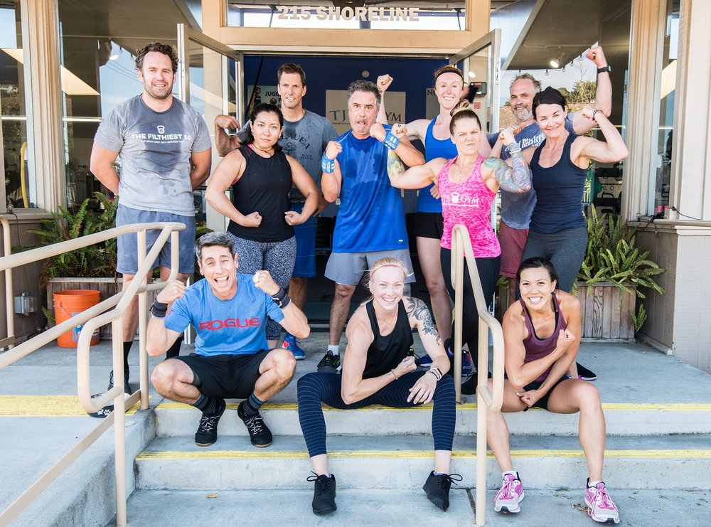 A STRONG COMMUNITY - At TJ's Gyms, you'll encounter challenging workouts, exceptional coaching, and a group of people who are genuinely happy to be there.Research shows that connection to a community is one of THE MOST important factors for health and longevity. We've got your back!