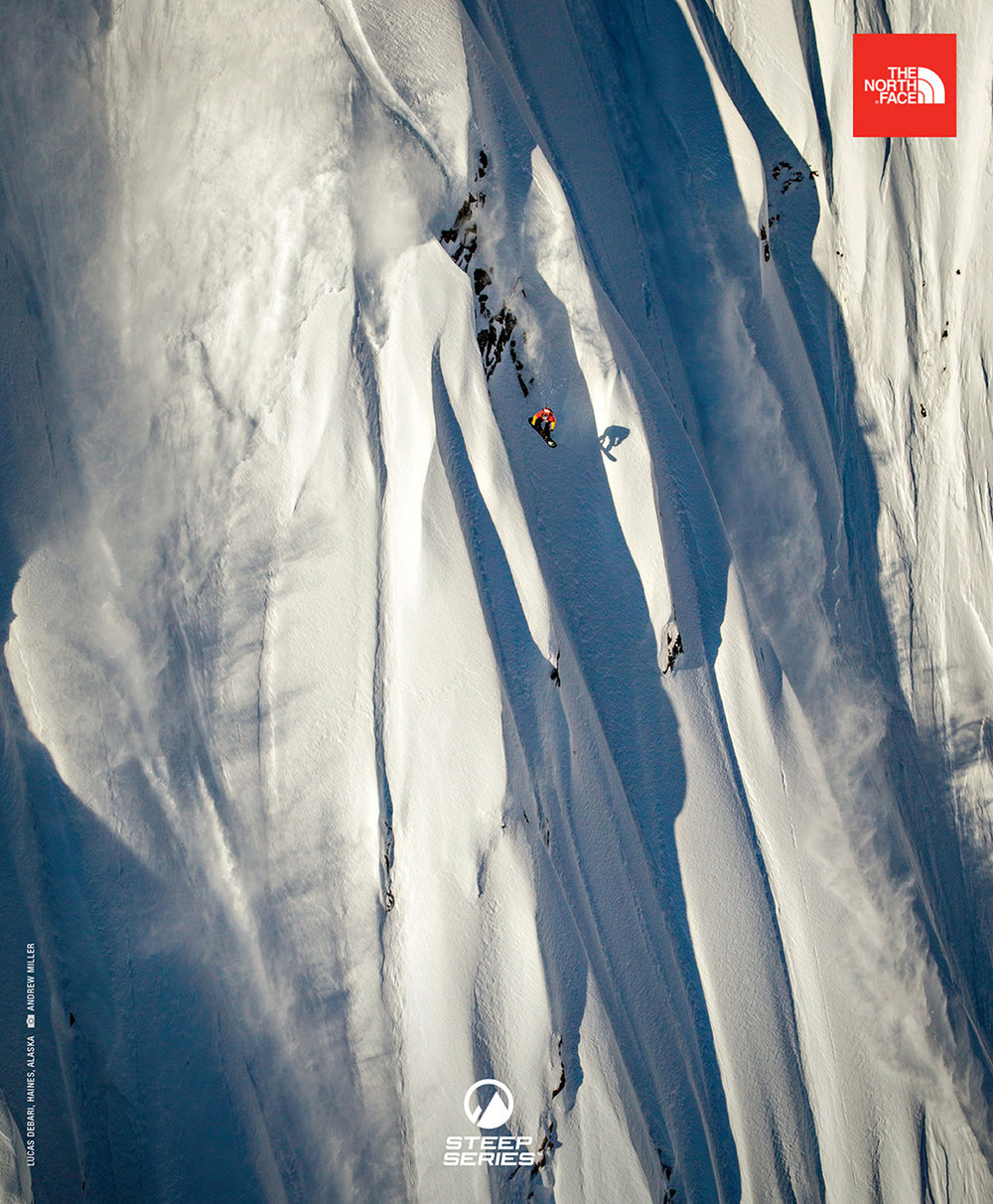 The North Face Steep Series Campaign