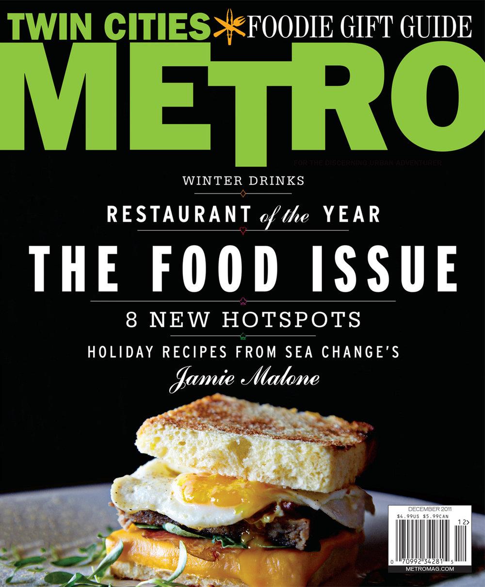 METRO magazine - Cover