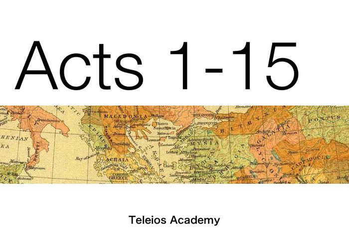 Acts - Teleios Web