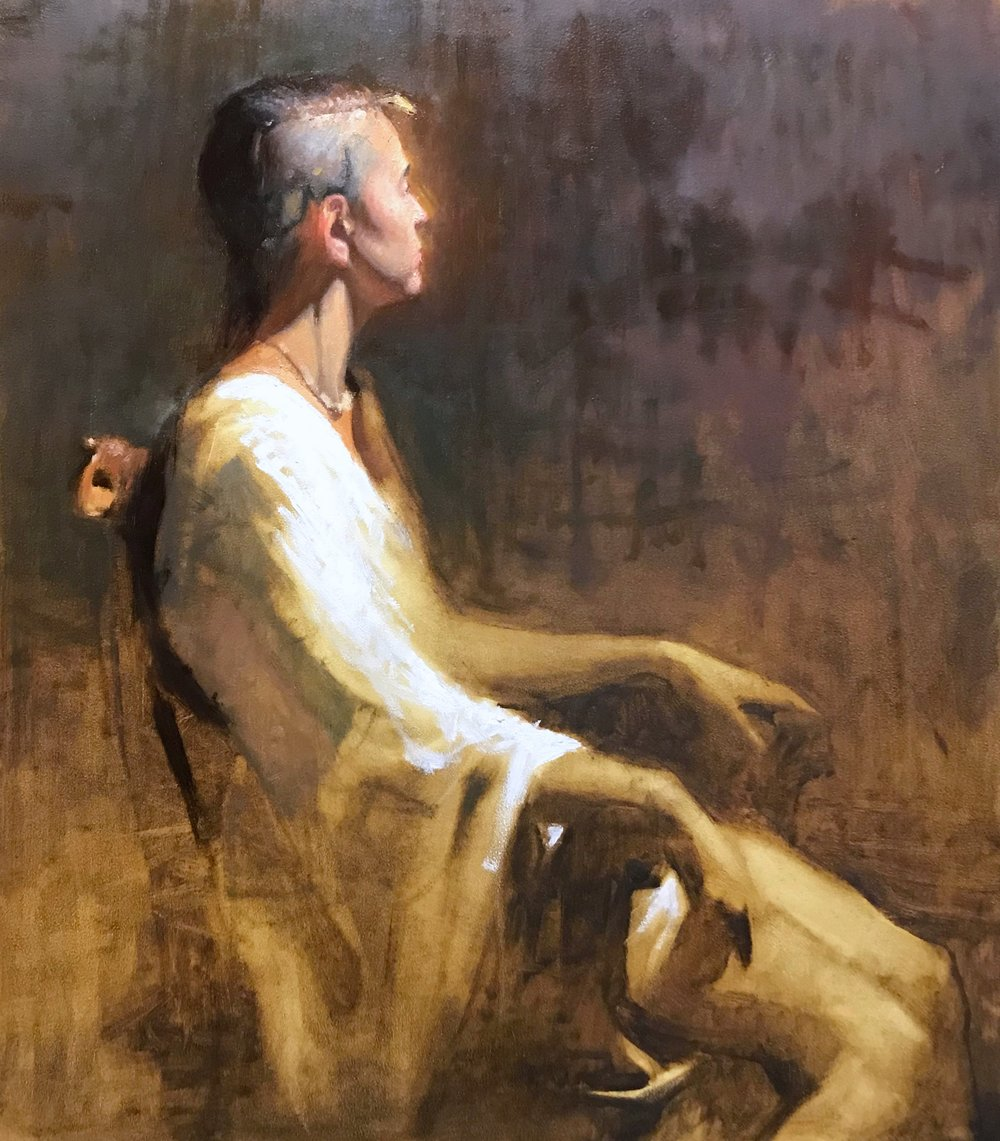 Costumed Figure Painting in Oils - space limited: reserve your spot