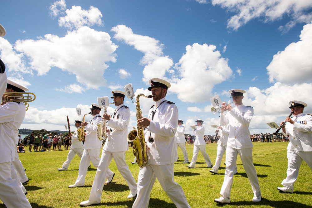 The Royal New Zealand Navy Band - The Royal New Zealand Navy Band is an extremely versatile ensemble of full time professional military musicians. The Band's primary role is to perform as a military band providing music for the ceremonial, public relations, recruiting and entertainment requirements of the Royal New Zealand Navy, the New Zealand Defence Force and the New Zealand Government.