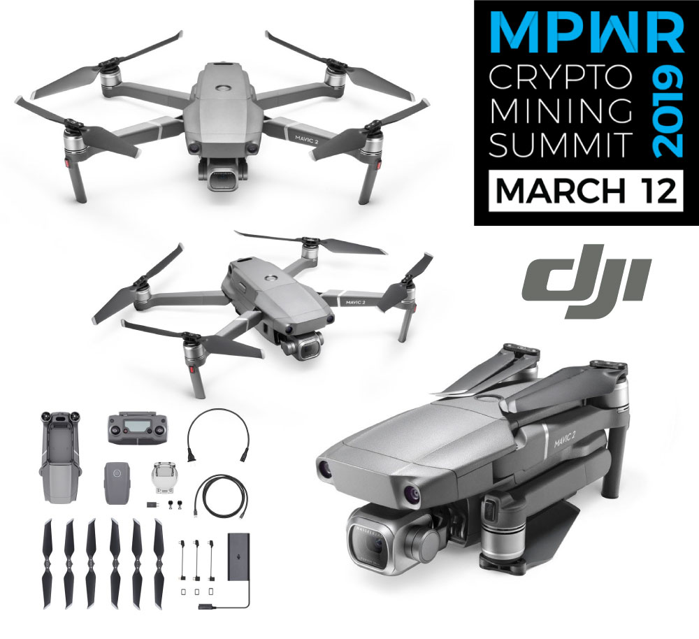 DOOR PRIZE GIVEAWAY - Every ticket purchase is automatically entered to win a DJI Mavic Pro 2 worth over $2000 CAD!