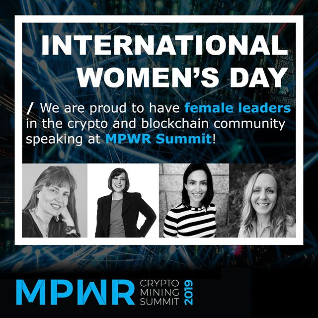 We are proud to have female leaders in the #crypto and #blockchain community speaking at #MPWRsummit! -- Amy Castor will be presenting on recent developments in the #QuadrigaCx case. Amber Scott will take us on a dive into the world of regulation of crypto-based economies in Canada. Dina Matterson from BC Hydro will be exploring new electrical demand of blockchain infrastructure. And our very own, Tanya Smith, CEO of Blockchain Infrastructure Research, will be kicking off MPWR Summit focusing on the current state, including both challenges and opportunities, of the crypto and blockchain industry. Looking forward to having you join us on March 12 in Vancouver, BC! -- #internationalwomensday #womensday #instawomen #womenintech #womeninSTEM #cryptomining #quadriga #technews #cryptonews #blockchainnews #BlockchainVancouver #BlockchainCanada #cryptominingCanada #blockchainwallet #blockchainmining #blockchainentrepreneur #blockchainlife #blockchaintech #blockchainconsortium #blockchaindevelopers #cryptotrading #cryptocurrencynews #cryptotrade #cryptocoin #cryptotrader #cryptocoins