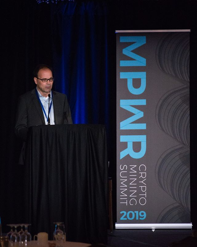 Ron Hankewich, Chief Research Officer at Blockchain Infrastructure Research, presented on his work related to corporate valuation of #cryptomining entities. -- Taking a look back at #MPWRsummit 2019! We would like to thank our speakers, exhibitors, sponsors, and attendees for making this event a great success. It was a true testament to the strong #cryptomining community both locally, in #Vancouver, and globally. -- #crypto #blockchain #innovation #energy #sustainability #digitalcurrency #bitcoin #cryptocurrency #cryptonews #blockchainnews #investment #stablecoin #Vancouver #BlockchainVancouver #BlockchainCanada #CryptoVancouver #CryptoCanada