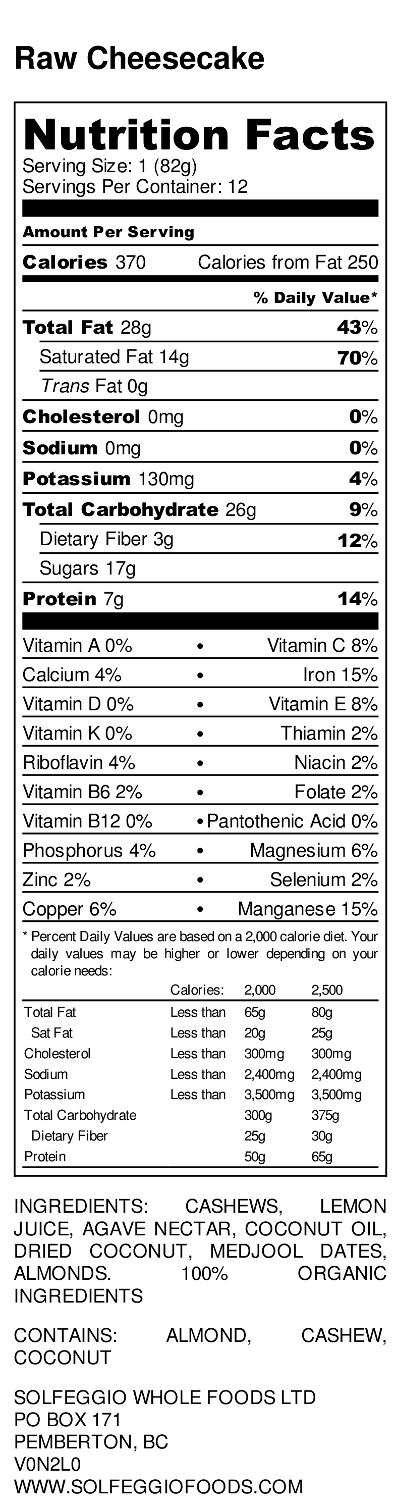 Raw Cheesecake - Nutrition Label.jpg