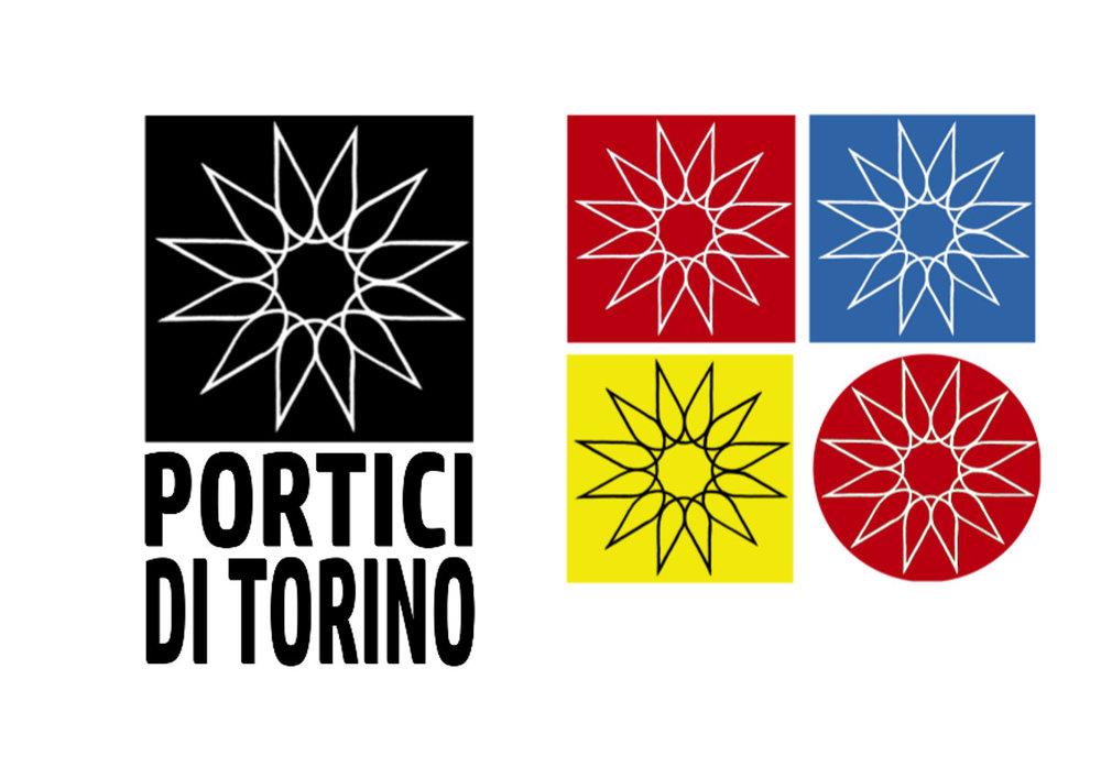 Portici di Torino   Logo design  2017