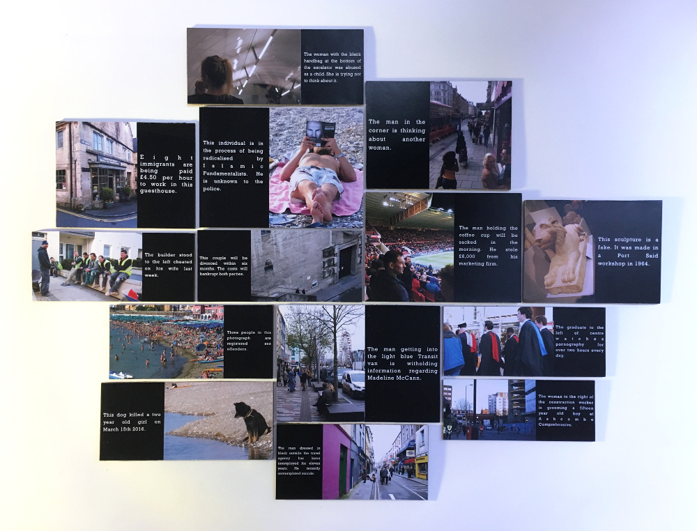 14 Exposures   Digital prints on panel board  Various dimensions  2018     F/S