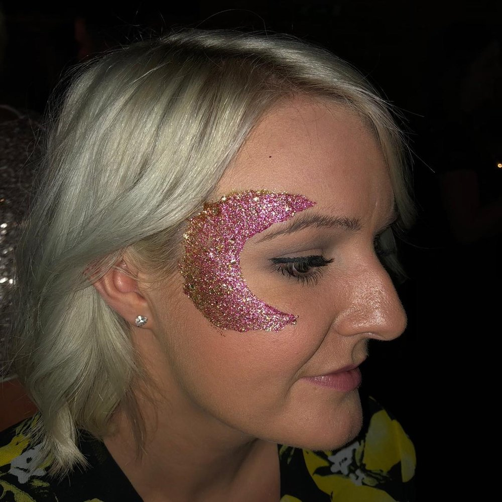 glitter eco biodegradable brighton wedding hen party