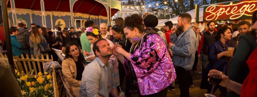 Brighton Fringe Glitter Bar at Brighton Spiegeltent