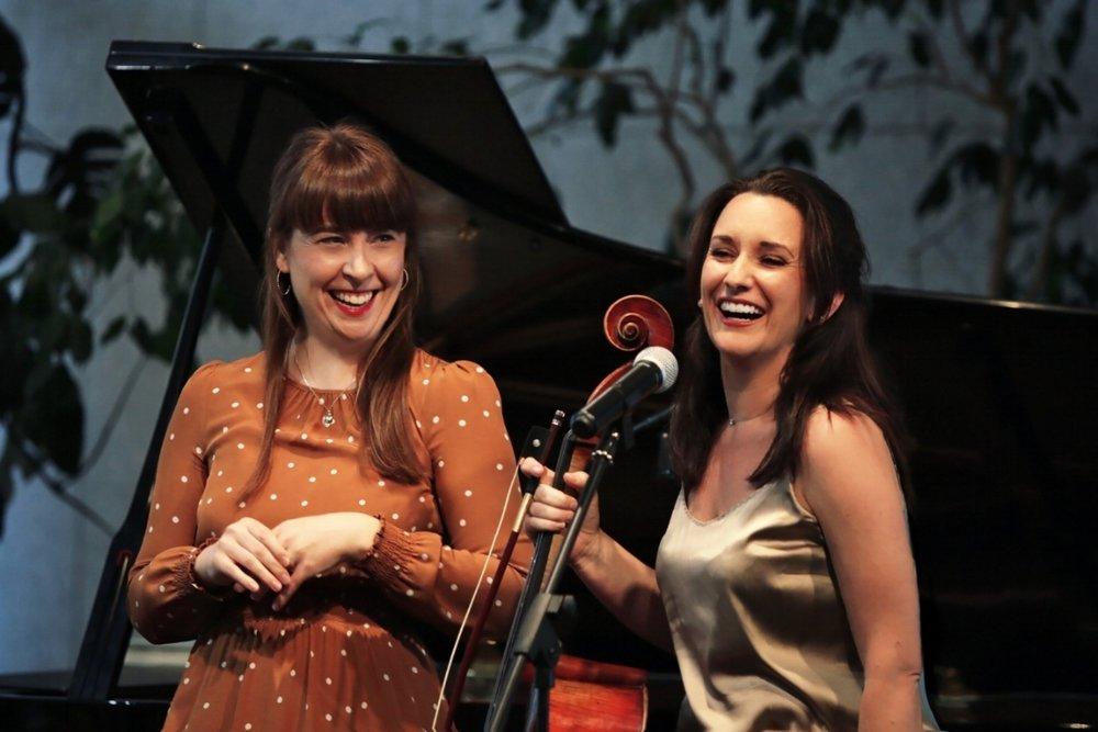 our artistic directors - Bonnie Brown & Michelle Wood