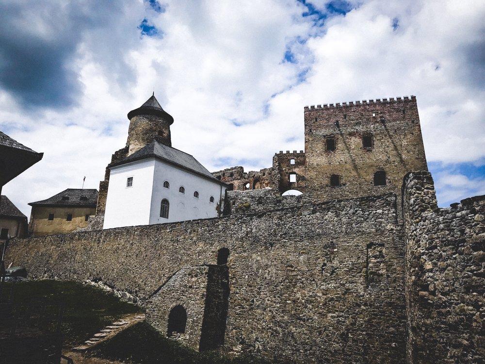 Stará Ľubovňa castle and the skanzen museum -