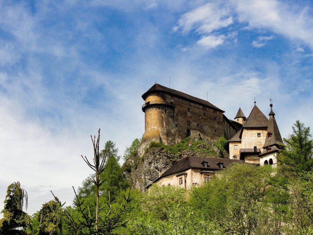 Orava Castle -