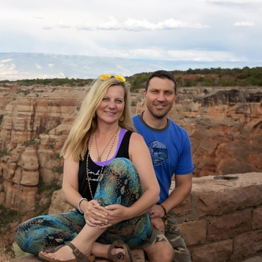 Bryan & Elizabeth Whitt - Elizabeth and Bryan have lived in the valley for 11 years and been involved in the local yoga community for 9. Bryan is a retired from the Army National Guard after over 21 years of service.