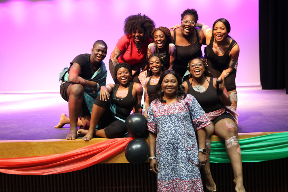 Cy Springs celebrates Black History Month with its second straight 'For the Culture' event.(Photo by Lola Haastrup)