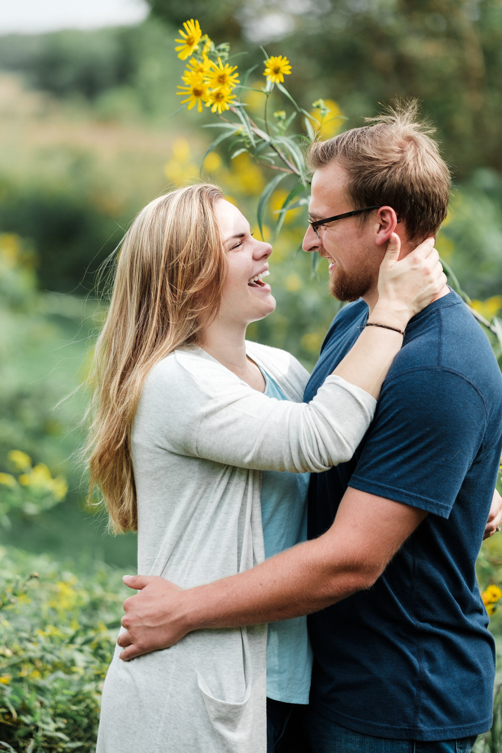 Wisconsin couple, The Fields Reserve Wedding, The Fields Reserve Photographer, Byron Photographer, Rockford Photographer, Best Photographer, Rock Cut State Park, Park Engagement, Destination Engagement, Colorado Engagement, Mountain Engagement, Doggy Engagement